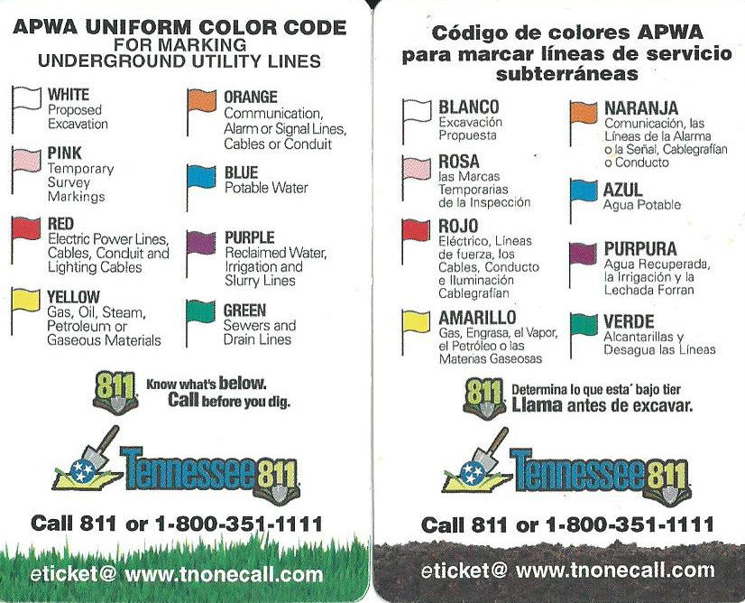 color codes