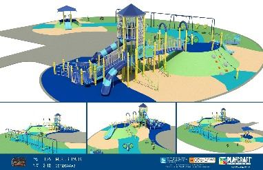 Digital Rendering MLK Playground