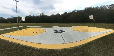 Basketball Court at J Travis Price