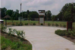 Greenway Trail Head at Garner St. Park, playground and Gazebo picnic shelter in background, GHead ph